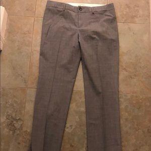 Banana Republic gray wool slacks 14